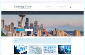 Cummings Fraser and Associates by HawkFeather Web Design