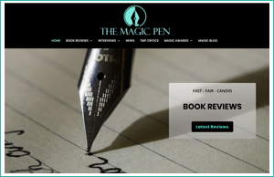 The Magic Pen by HawkFeather Web Design